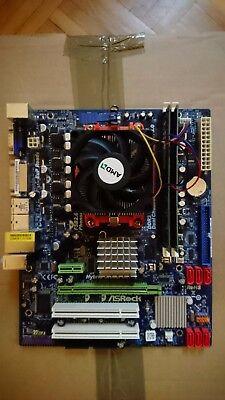 AMD Phenom II x6 1100T 3,3GHz mitAsRock M3A785GM-LE/128M 4GB DDR3 Ram