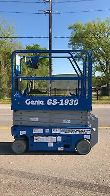Genie 1930 Electric Scissor Lift Refurbished Warranty - Dealer Ie Jlg