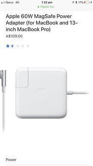 60W MagSafe Apple Adaptor