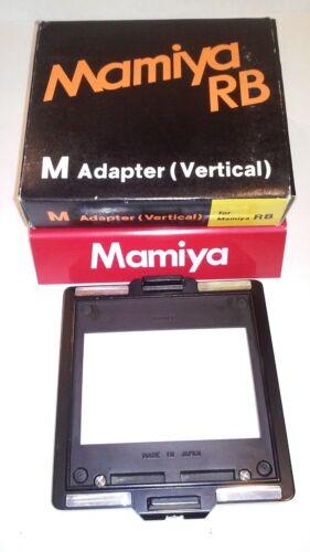 Mamiya RB M ADAPTER ( VERTICAL ADAPTER )