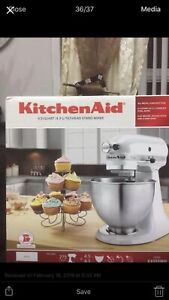 Kitchen aid mixer Brand new in box never opened