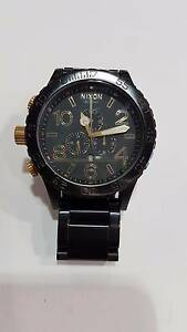 NIXON - BLACK - CAN BE WORN ON RIGHT HAND Caboolture Caboolture Area Preview