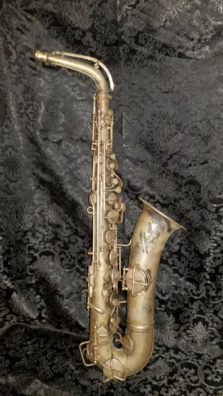 Antique C. G. Conn LTD C Melody Saxophone 1914