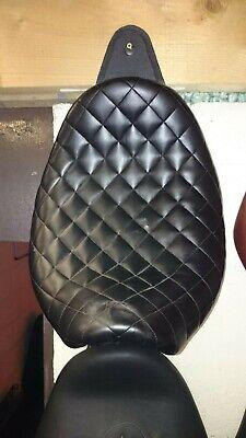 MAVERICK CUSTOM LOW PROFILE SOLO BLACK LEATHER SEAT TRIUMPH SPEEDMASTE
