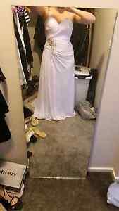 Gorgeous white wedding/formal dress sz10-12 Doreen Nillumbik Area Preview