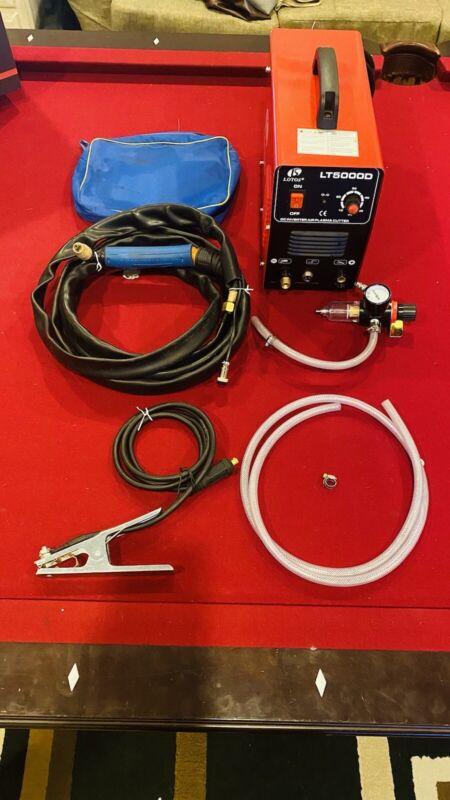 "LOTOS LT5000D 50A Air Inverter Plasma Cutter Dual Voltage 110/220VAC 1/2"" Clean"