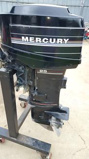 25 hp outboard mercury boat motor
