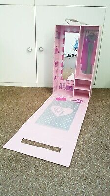 """Design a friend 18"""" doll' s large wardrobe/  catwalk/ our generation"""