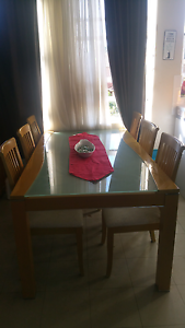 Dining table 6 chairs plus matching buffet Little Bay Eastern Suburbs Preview