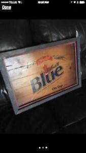 Labatt Blue Sign