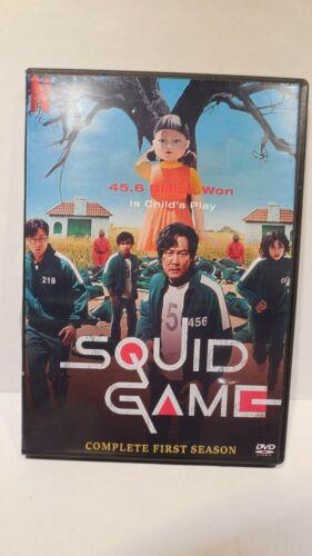 🔥Squid Game (VOL.1 - 9 End) DVD ENGLISH DUBBED Korean Drama🔥