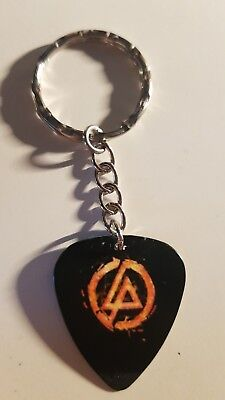 Linkin Park - Darth vader guitar pick keychain / keyring