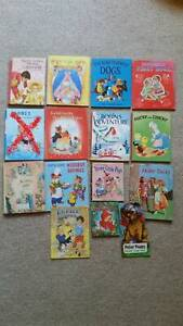 Traditional/retro 1950/60s children's reading/pictorial story books...