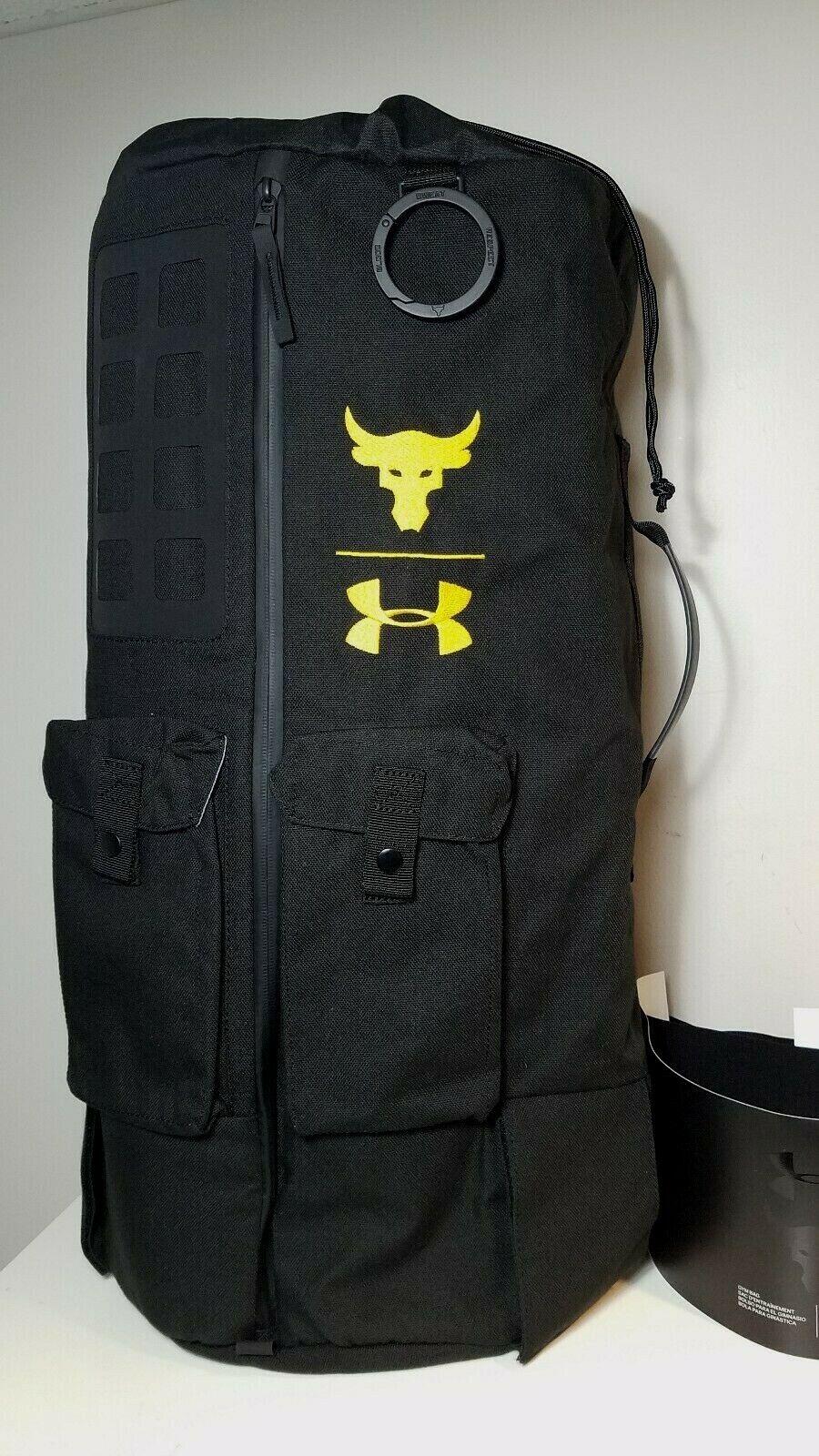 NWT Under Armour The Project Rock 90 Gym Duffle Big Bag UA B