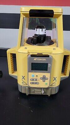 Topcon Rt-5sa Dual Slope Grade Rotary Laser Machine.