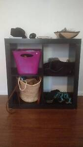 Small black 4 cube side hall cabinet Manly Vale Manly Area Preview