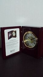 Howard Miller 645-497 Portrait Book Table Clock