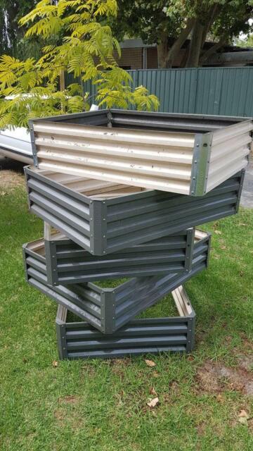 Stratco Raised Garden Beds x 5 | Pots & Garden Beds