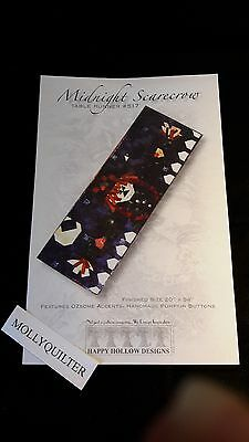 Midnight Scarecrow Happy Hollow Designs Fall/Halloween Quilt Pattern