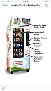 Like New Healthy Max vending machine