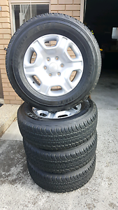 Ford ranger wheels and tyres Mentone Kingston Area Preview