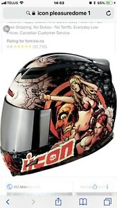 Icon airframe pleasure dome helmet