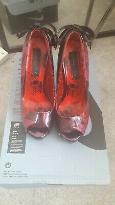 Iron Fist Heels Size Uk 3 In Great Condition