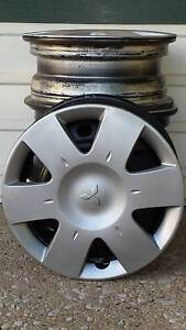 "Mitsubishi Lancer, 4 x 14""x5.5"" Rims Bray Park Pine Rivers Area Preview"