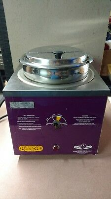 Global Carts Table Top Warmer 1200w 120v- Hot Dog Wagon 6055-m-l-3846 Blimpie