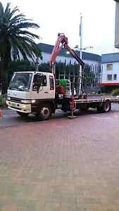 Sydney crane truck hire - hiab truck hire with driver Sydney City Inner Sydney Preview