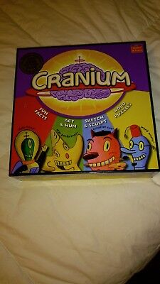 Cranium Board Game Outrageous Fun For Adults & Teens Used