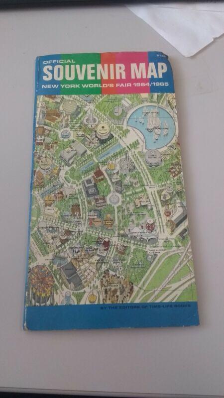 Official Souvenir Map New York World