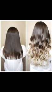 Hair Extensions Services - Ombré within hours, no damage!