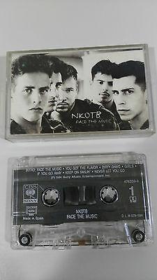 NEW KIDS ON THE BLOCK NKOTB FACE THE MUSIC CINTA TAPE CASSETTE CBS 1991 SPAIN ED
