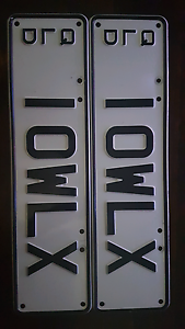 LOWLUX personalised plates (10WLX) Bundall Gold Coast City Preview