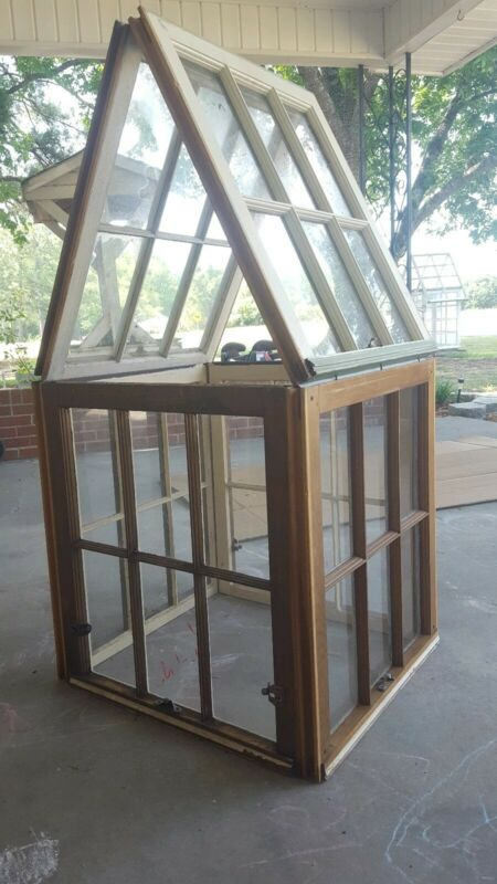 ANTIQUE SALVAGE WOOD WINDOW SASH DIY PINTEREST GREENHOUSE KIT GREEN HOUSE