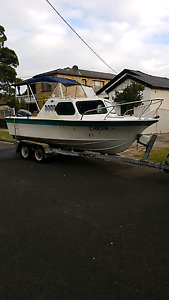 5.3m Half Cabin Fishing Boat For Sale or Swaps $8,900 Sydney City Inner Sydney Preview