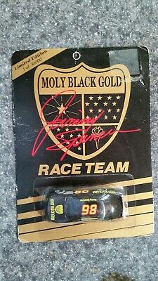 Gold Racing - New 1992 Racing Champions 1:64 NASCAR Jimmy Spencer Moly Black Gold Chevy Lumina