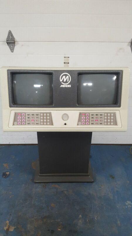 Vintage Mendes Bowling Scoring Monitors