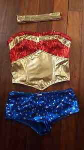 Wonder woman costume size small Bethania Logan Area Preview