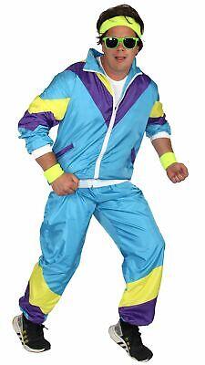80er Jahre Kostüm für Herren Trainingsanzug Fasching Karneval - 80 Kostüme Für Herren