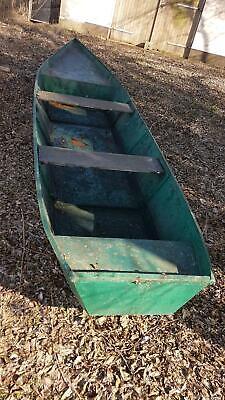 Angel Kahn aus Stahl, Ruderboot, Arbeitsboot