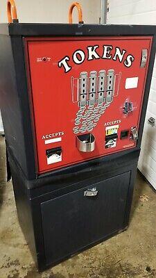 American Changer Ac6000 6001 6002 Bill Coin Token Changer Dual Hopper Validator