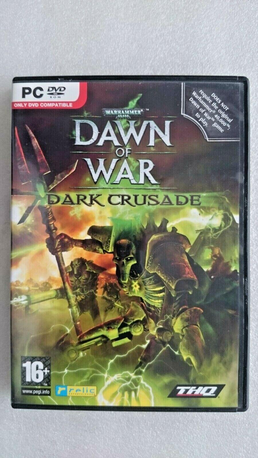 Warhammer 40000: Dawn of War: Dark Crusade (PC Windows 2005)