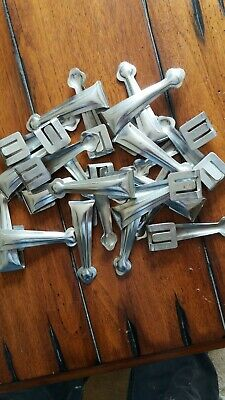 23 Old stair carpet grips / clips