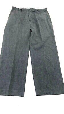 BANANA REPUBLIC MEN'S GREY WOOL DRESS PANTS SIZE 34 X 30