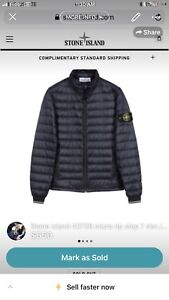 STONE ISLAND 40726 MICRO RIP STOP 7 DEN / DOWN PACKABLE
