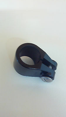Boat Bimini / Canopy Bow Knuckle Clamps Fittings for 20 mm Tube (Black)