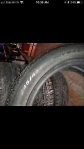 245/45 R18 winter tires Pirelli pneus d'hiver