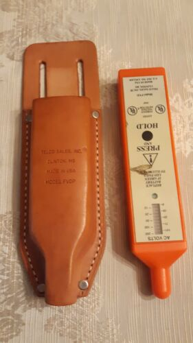 Telco Sales Model FVD Foreign Voltage Detector - Made in USA - w/Pouch